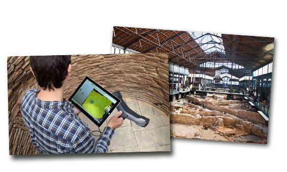 Captae combina los escáneres Freestyle y Focus en la digitalización 3D del yacimiento del Born Centro Cultural de Barcelona