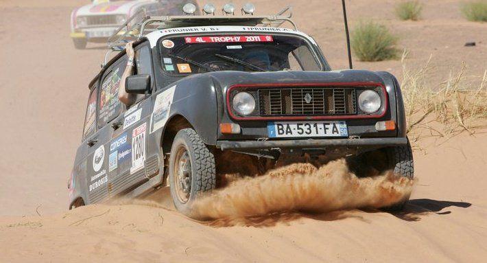 4L-4L trophy-dunes Maroc