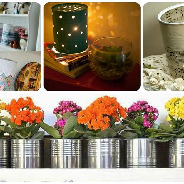 Ideas creativas para reciclar latas de leche blog ideas - Ideas creativas para reciclar ...