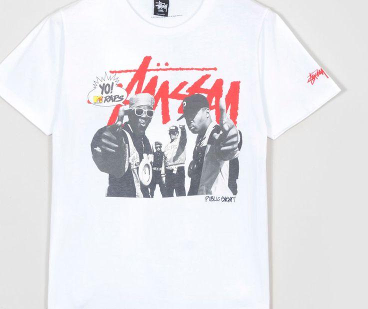 Buy Stussyx Yo! MTV Raps Public Enemy T-Shirt- Mens Fashion Online at Size?