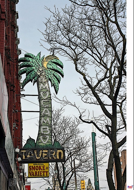 El Mocambo by Arrrrt, via Flickr  One of the iconic Toronto landmarks featured in Book 1. The Rolling Stones recorded Love You Live there in 1978. More importantly for me, my parents met there on a blind date in 1959.