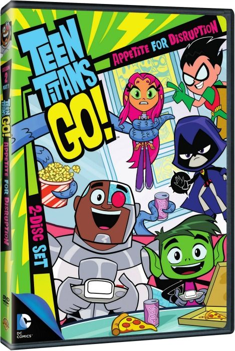Our Southern Style: Teen Titans Go! Appetite For Disruption Season 2 P...