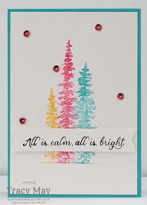 Watercolour Wonderland from Stampin' Up! by Tracy May