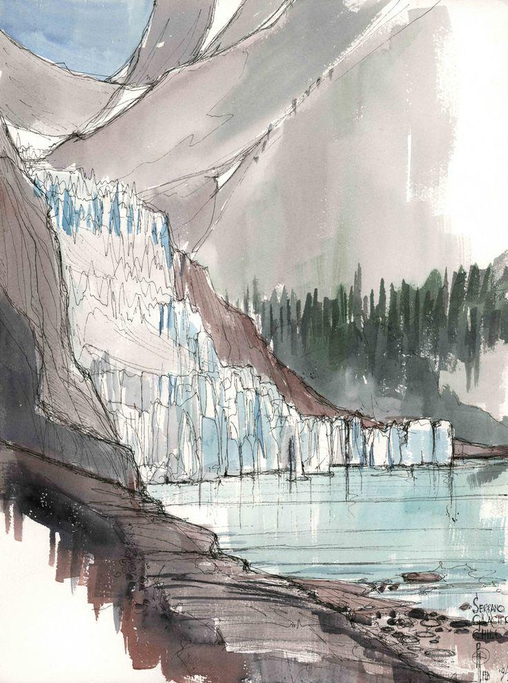 Serrano Glacier, Patagonia, Chile
