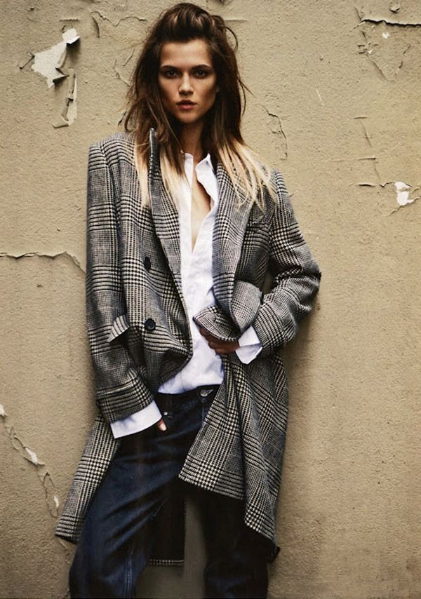 Kasia Struss by Claudia Knoepfel & Stefan Indlekofer for Vogue Russia September 2012