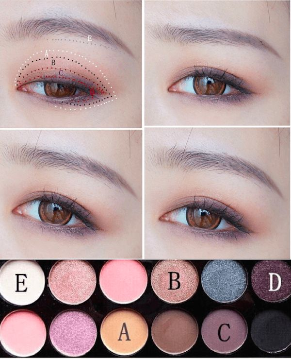 mẹo trang điểm mắt đẹp như Hàn Quốc 1