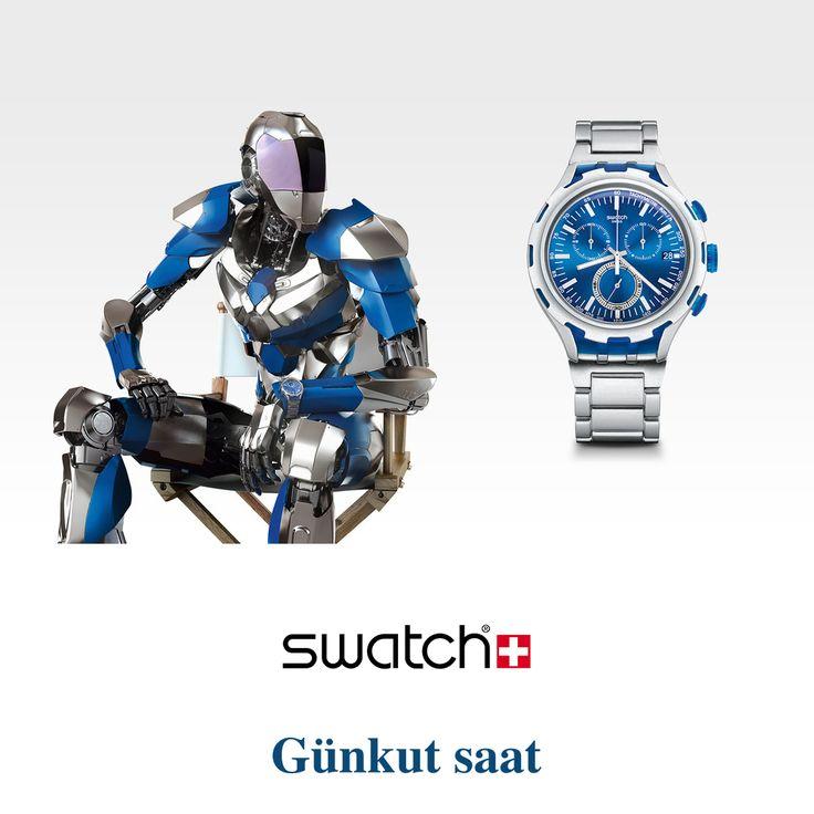 Şimdi Swatch Endless Energy'nin füzyon teknolojisi ile tanışma zamanı!  İncelemek için; http://bit.ly/swatchendless