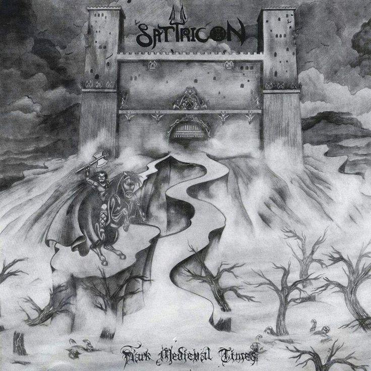 Caratula Frontal de Satyricon - Dark Medieval Times