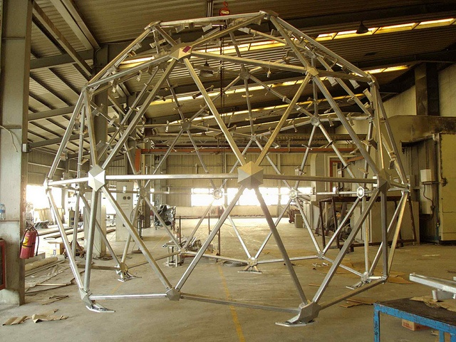 Assembly of dome in factory by www.solarpanels-china.com, via Flickr