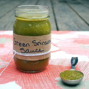 Hot pepper season is almost over, so snatch up some of those seasonal lovelies and try my green sriracha sauce recipe!