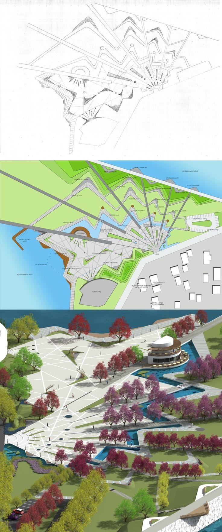 #Landscape #Architecture #Design #Sketch   Doruk Görkem ÖZKAN