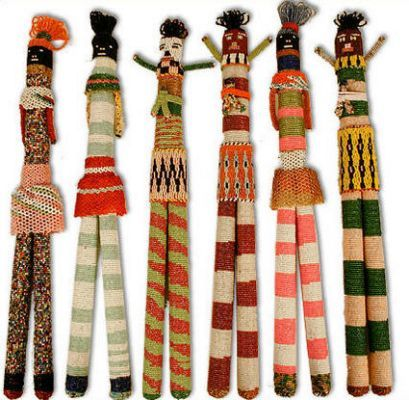 Ancient African Dolls Monkeybiz