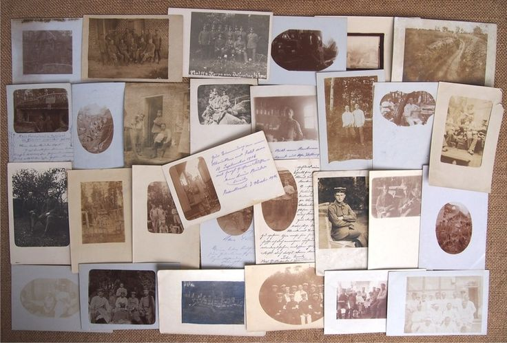 29 фото карточек Германия Первая мировая война 1916-1917 г.
