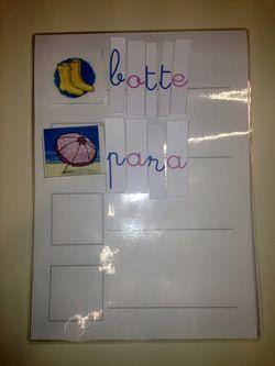 Parmi les ateliers de type Montessori qui sont très connus dans l'apprentissage de la lecture, il y al'alphabet mobile et les dictées muettes. C'est un atelier qui permet aux enf…
