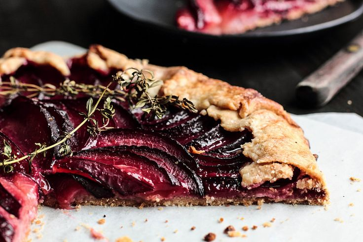Triple Berry Lemon Galette With Almond Crust Recipes — Dishmaps