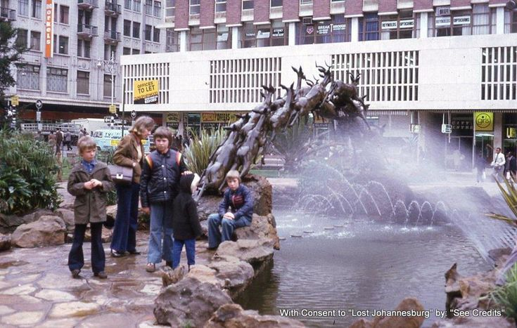 Oppenheimer Fountain, Central Johannesburg.
