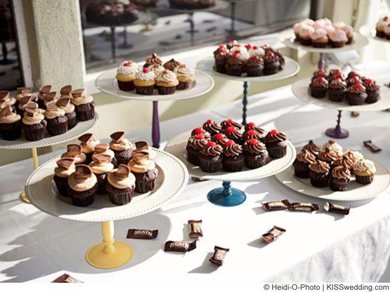 wedding picture board ideas - Cupcake bar Wedding Ideas
