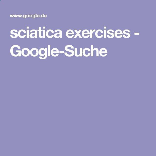 sciatica exercises - Google-Suche