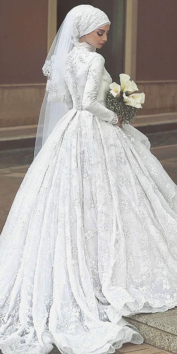 18 Of The Most Exclusive Muslim Wedding Dresses | Muslim wedding ...