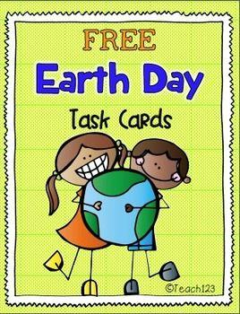 #FREE Earth Day Fluency Task Cards #TPT #Teach123