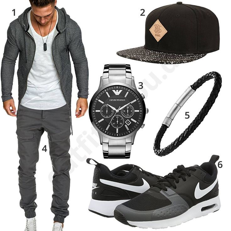 Street-Style mit Oversized Zip-Hoodie und Cargo-Hose (m1014) #hoodie #jogginghose #cap #armband #uhr #nike #outfit #style #herrenmode #männermode #fashion #menswear #herren #männer #mode #menstyle #mensfashion #menswear #inspiration #cloth #ootd #herrenoutfit #männeroutfit