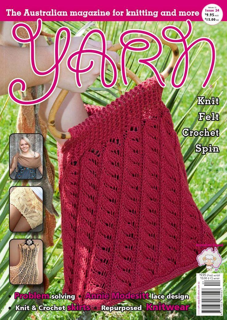 Mejores 14 imágenes de Craft Yarn Magazines en Pinterest | Revista ...