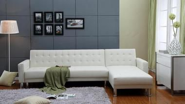 17 Best ideas about White Sectional on Pinterest