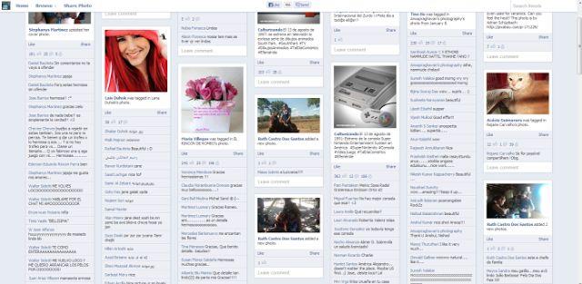 Friendsheet  (Visualizador de fotos de contactos y páginas seguidas en facebook)