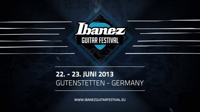 Ibanez Guitar Festival - Opening Title
