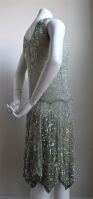 Anonymous - very rare 1920's French beaded dress