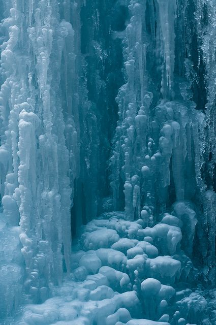 Maligne Canyon Ice Sculpture - Alberta, Canada