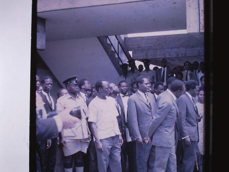 Milton Obote early 1969 - Tororo Girls School