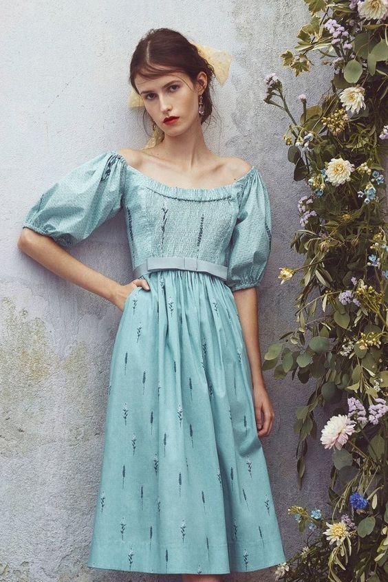 252b82cd4 10+ Modelos De Vestidos Românticos em 2019