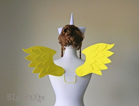 Hey, I found this really awesome Etsy listing at https://www.etsy.com/listing/242321818/my-little-pony-cosplay-wings-fluttershy