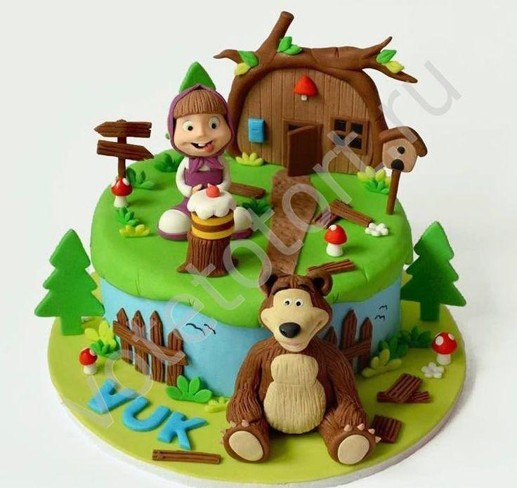 торт маша и медведь - Поиск в Google