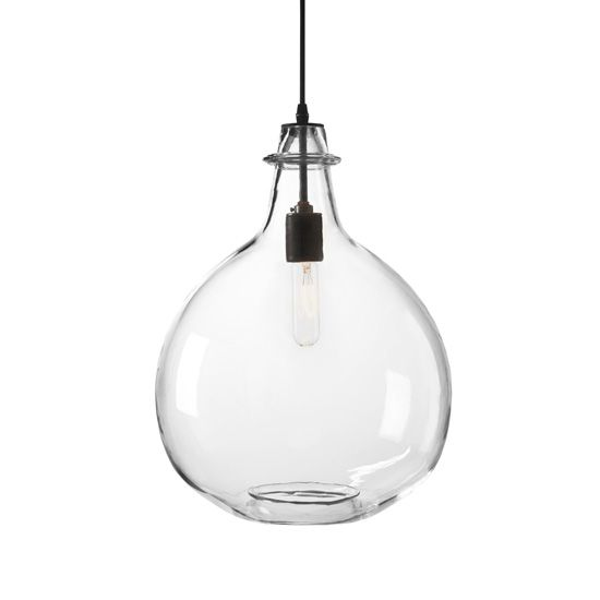 Jug Lamp Clear Extra Large