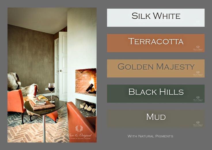 #limepaint colors Mud and Silk White. #kalkverf Lime Paint
