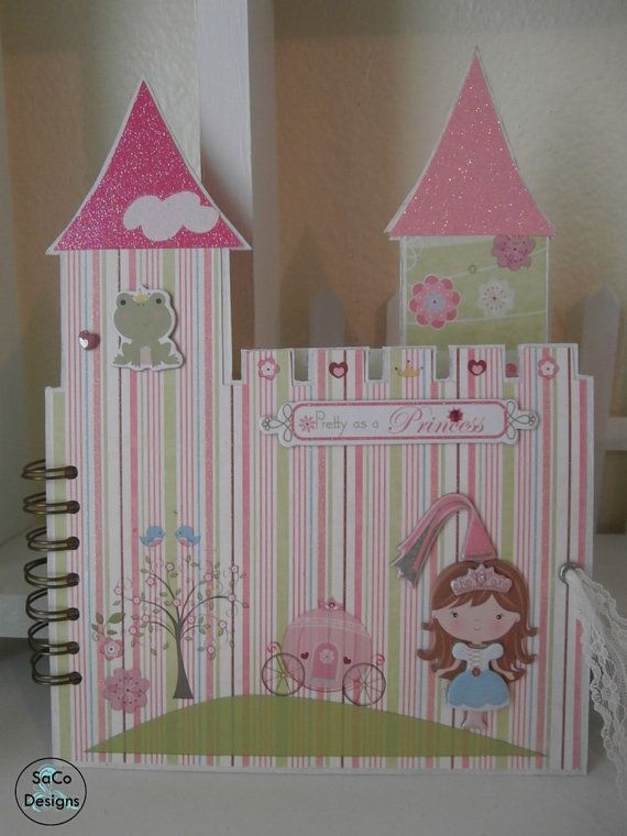 Castle Mini Album for the Little Princess
