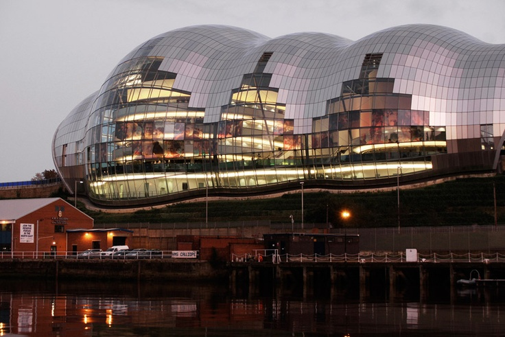 Norman Foster, The Sage Gateshead, Newcastle upon Tyne