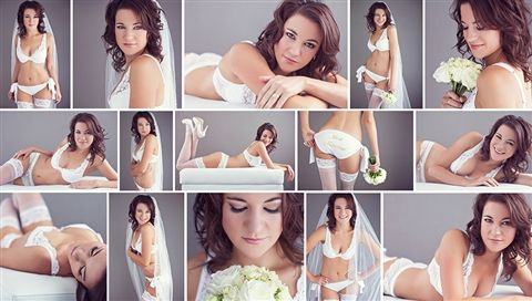 You have to see this gorgeous boudoir shoot (click through to watch the video!). The perfect gift to your husband or partner! xx
