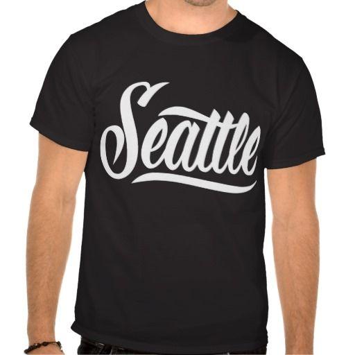 Seattle T-Shirt #Seattle #lettering #LetterHype