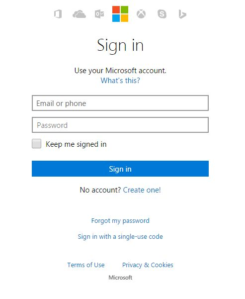 how to make a windows live hotmail account