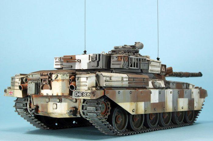 Berlin Brigade Chieftain Mk.9c by Ian Murray (Tamiya + Castoff 1/35)