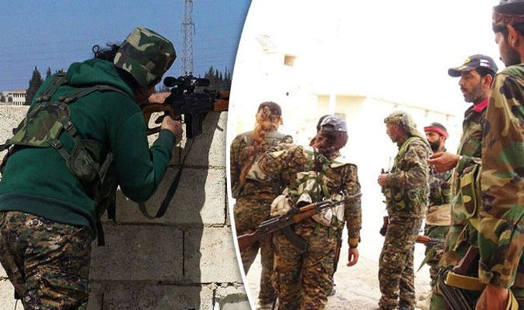 ISIS retreats from major position as FEMALE snipers and military unit move towards Raqqa