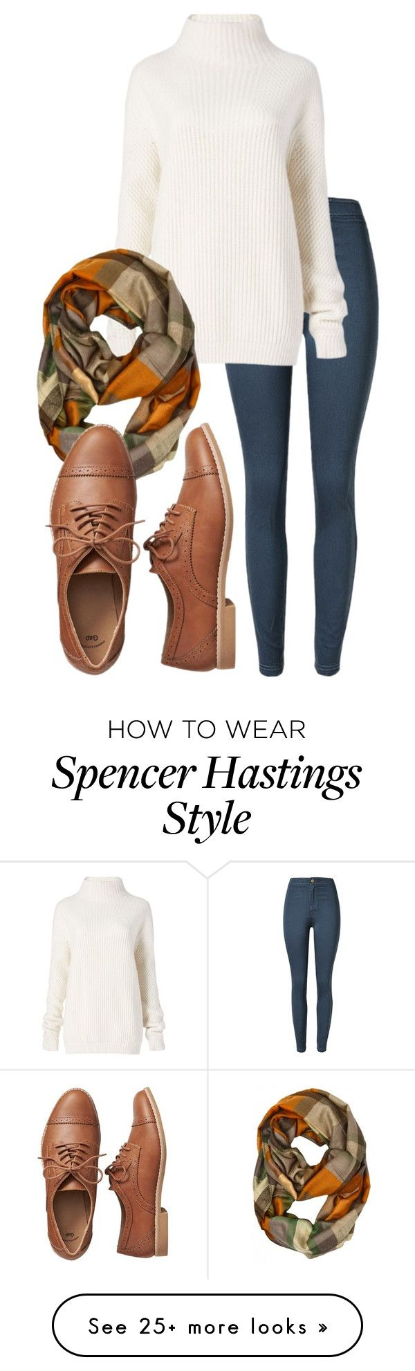"""""""Inspired by spencer hastings's style (pll) ✌️"""" by rachastyle on Polyvore featuring Diane Von Furstenberg and Gap"""