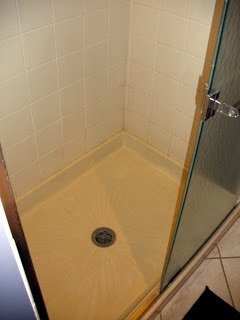 Living in the 513: Cleaning Shower Floors