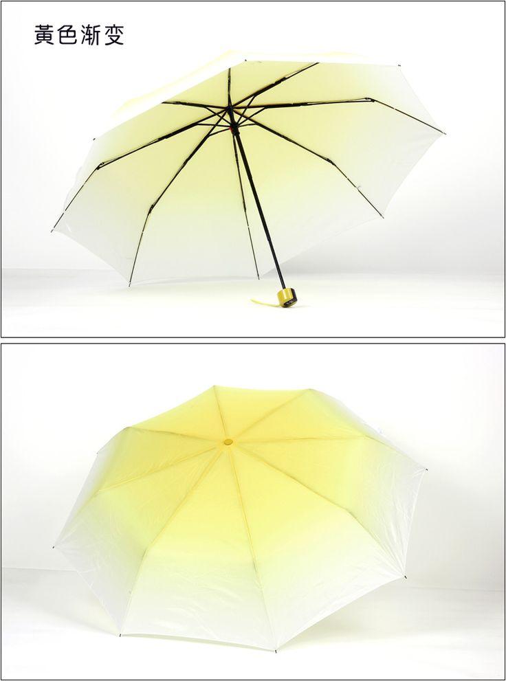 Творческий студент зонтик торговля градиентные диких конфеты цвета японский корейский оригинальный одноцветная зонтик студент купить на AliExpress
