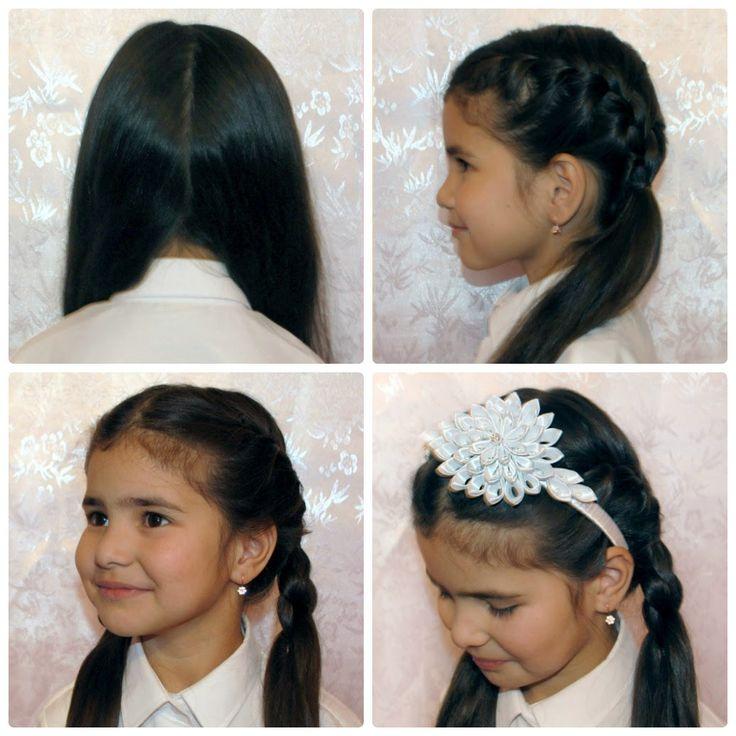 """Evgenia Zhumabaeva blog: Cезон 2, День 9 """"Новая прическа каждый день. Собираем девочек в школу за 15 минут"""""""