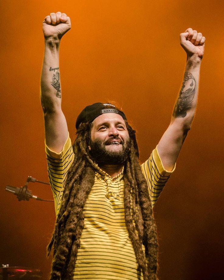 Alborosie on fire at The Brussels Summer Festival 2012 #alborosie #reggae #festival #brussels #festival #concert #bsf #brusselssummerfestival #nikonbelgium #D5100 #people #song #jah