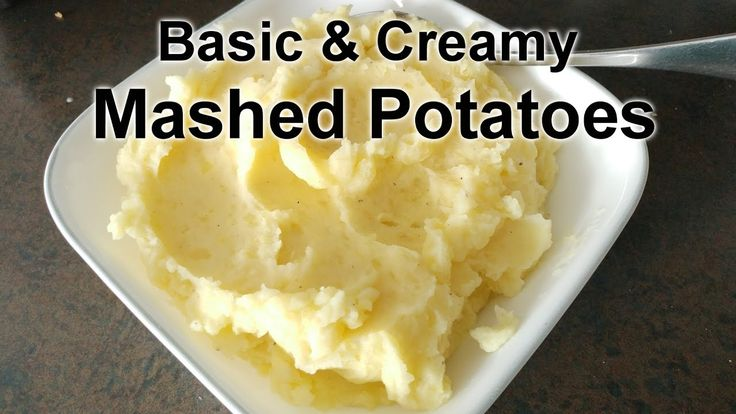Very Simple and Creamy Mashed Potatoes Recipe | Easy Way To Make Mashed ...